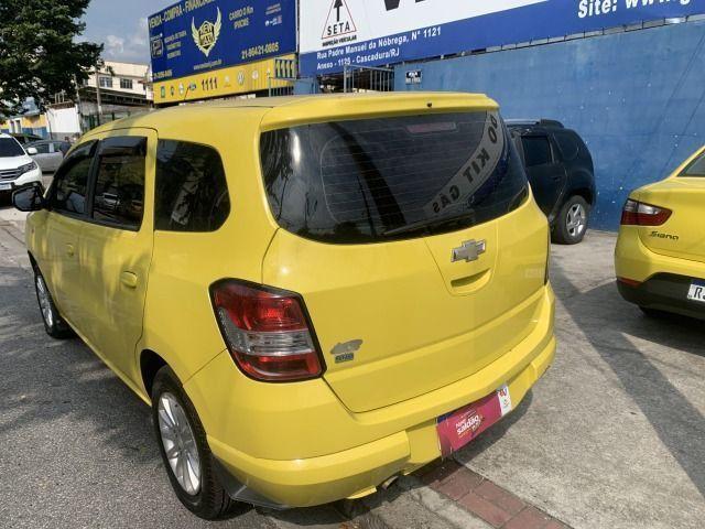 Spin 1.8 ex taxi completa+gnv, aprovação imediata, sem comprovação de renda!!! - Foto 4