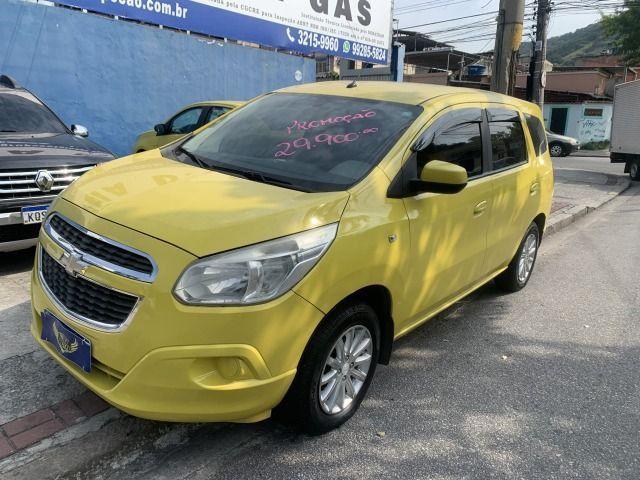 Spin 1.8 ex taxi completa+gnv, aprovação imediata, sem comprovação de renda!!! - Foto 2