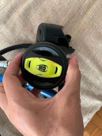Regulador de mergulho completo Aeris a2 + Case - Foto 4