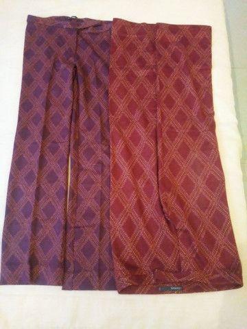 CALÇAS Femininas, tecido lãzinha novas somente P.