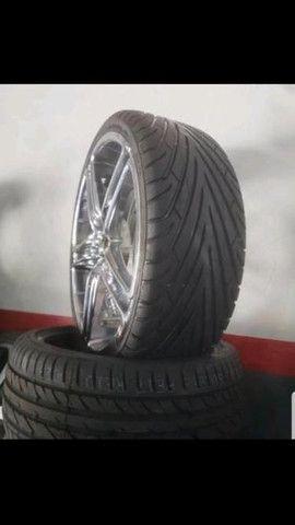 Roda 20 pneu 20