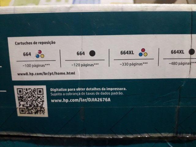 Multifuncional HP deskjet 2676 - Foto 5