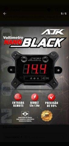 Voltímetro ajk sound nano Black  - Foto 2