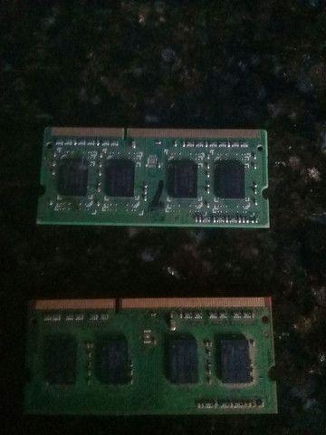 MEMÓRIA RAM  DOAS DE 2 JIGAS DDR3