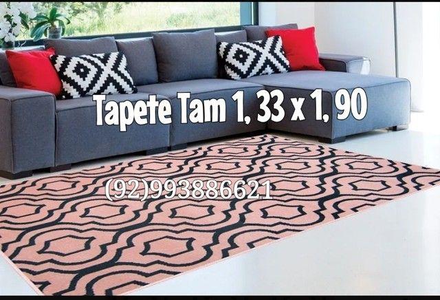 TAPETES Geométrico Tam 1, 33 x 1, 90 - Foto 3