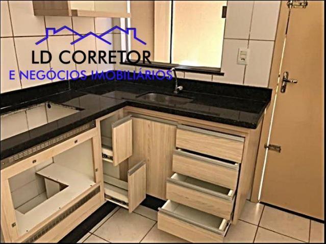 Casa de 2 Quartos em condomínio fechado completo em armários e espaço gourmet pronto - Foto 11