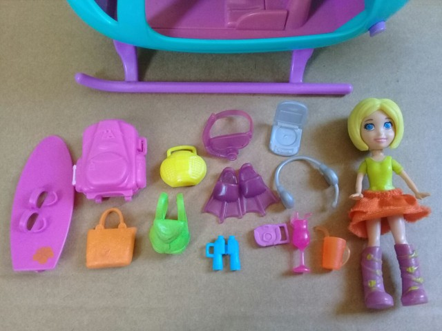 Helicóptero da Polly Pocket  - Foto 3