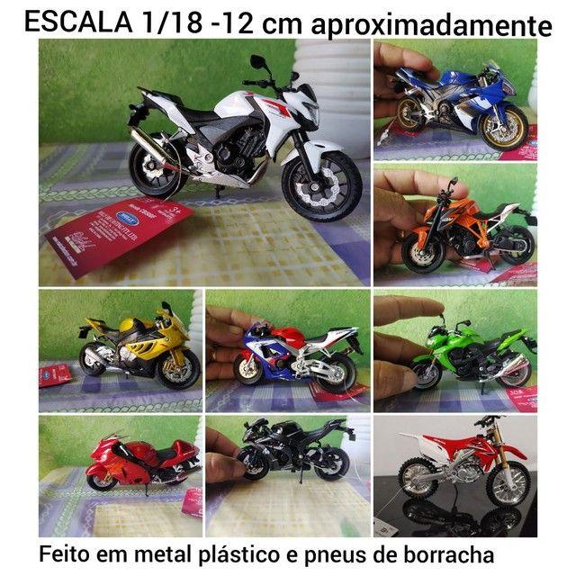 Miniatura motos complete sua coleção