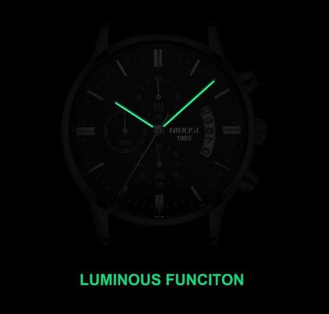 Relógio Nibossi ORIGINAL A PROVA D'ÁGUA! - Foto 3