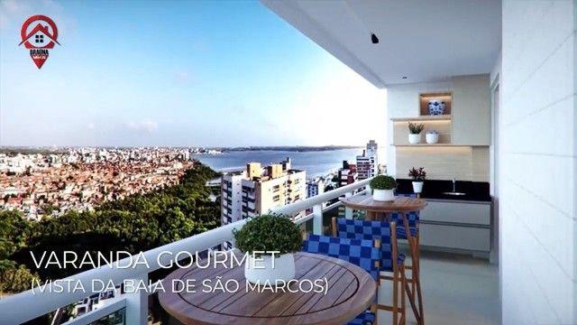 Mirante da Península - 3 qtos 90 m² - Localização nobre de São Luís MA - Foto 4