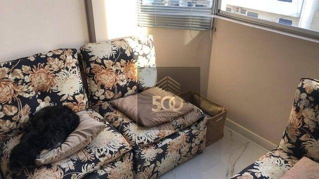 Apartamento com 4 dormitórios à venda, 108 m² por R$ 519.900,00 - Balneário - Florianópoli - Foto 2