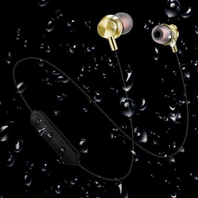 Fone De Ouvido Com Bluetooth / Sensor De Movimento Com Microfone Hd Sem Fio / - Foto 3