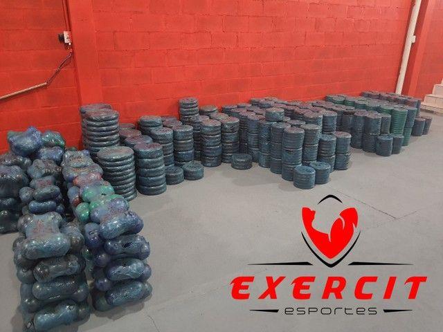 Anilhas e Barras novas a pronta entrega ! Loja Exercit Esportes  - Foto 3