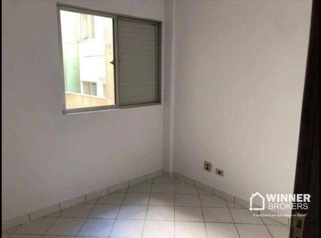 Apartamento com 3 dormitórios para alugar, 84 m² por R$ 1.200,00/mês - Zona 06 - Maringá/P - Foto 11