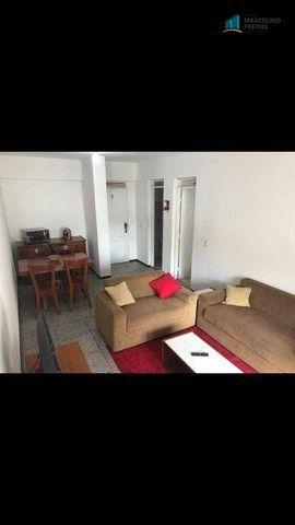 Flat com 1 dormitório para alugar, 52 m² por R$ 1.600,00/mês - Praia de Iracema - Fortalez - Foto 5
