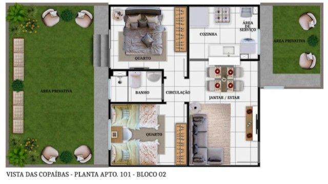 LP/ Use seu FGTS e conquiste seu Apê no Residencial Vista das Copaíbas - Foto 3