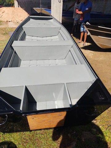 Barcos alumínio novos e usado  - Foto 4