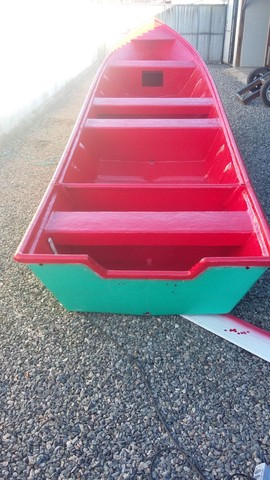 Barco batera bote lancha de fibra  - Foto 3