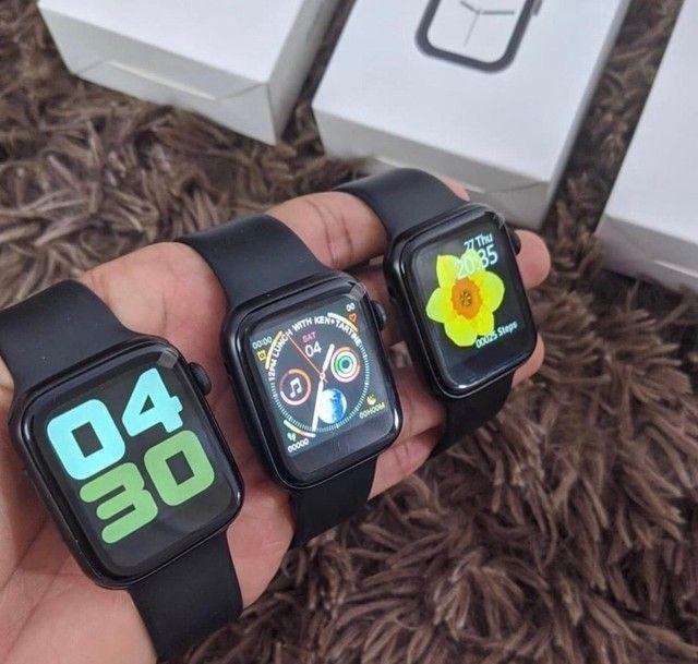 Relógio Ios Android Smartwatch 4 Iwo 8 Lite 44mm Original - Foto 2