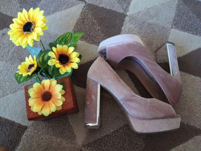 Sapatos N° 35,36 usados apenas uma vez  - Foto 3