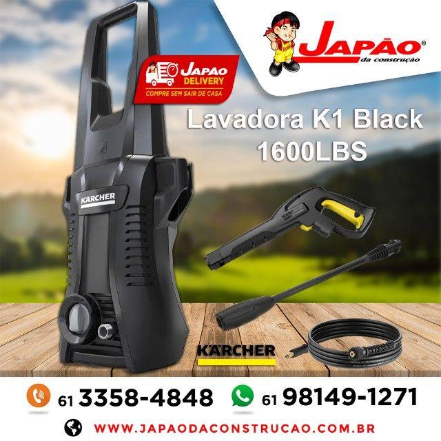 Lavadora Alta Pressão K1 Prática Black Karcher 1600LBS Garantia de 1 Ano