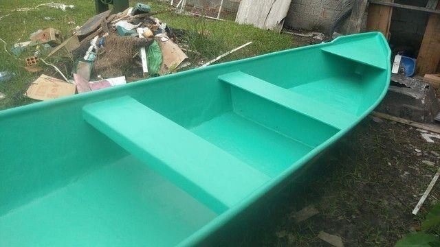 Barco batera bote lancha de fibra  - Foto 7