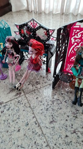 Kit monster high bonecas - Foto 3