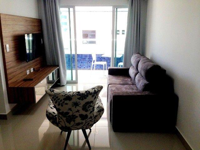 Alugo apartamento mobiliado em Manaíra. - Foto 2