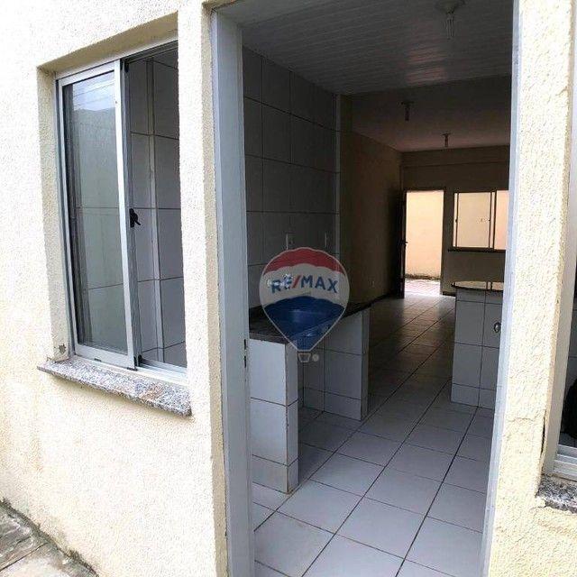 Apartamento com 2 dormitórios para alugar, 53 m² por R$ 790,00/mês - Edson Queiroz - Forta - Foto 9