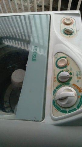 Máquina de lavar consul 8KG (Entrego com garantia) - Foto 5