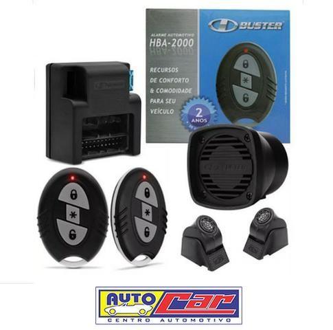 Alarme HBuster Carro c/ 2 controles HBA 2000