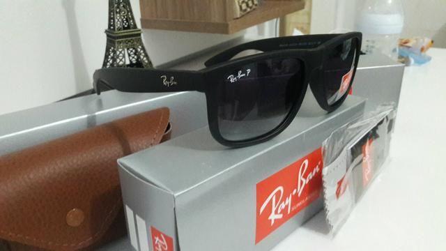176bfcf94c7d7 Rayban Justin original com lentes polarizadas - Bijouterias ...