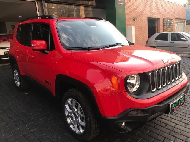 Jeep Renegade Londitude 2.0 Diesel Vermelho 2015 2016