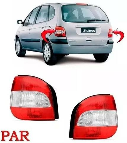 Par Lanterna Cristal Renault Scenic 2001 2002 A 2008 2009