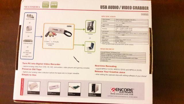 Capturadora de áudio e vídeo Encore (NOVO) - Foto 2