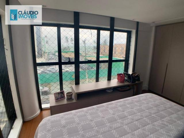 Apartamento com 4 dormitórios à venda, 203 m² por r$ 1.600.000 - jatiúca - maceió/al - Foto 10