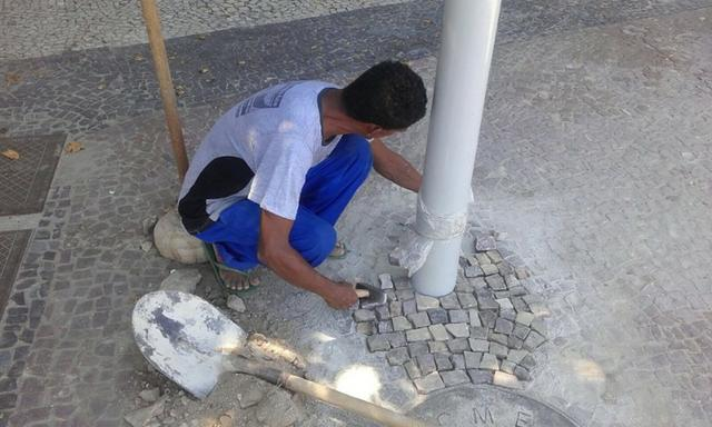 Calçadas em pedra portuguesa rj rio de janeiro - Foto 2