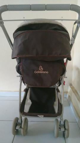 Carrinho bebê unissex da marca Galzerano - Foto 4
