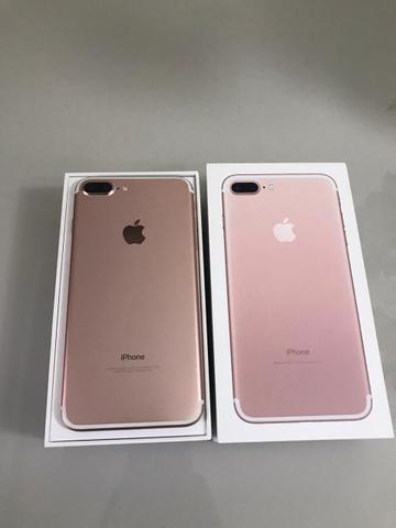 IPhone 7 Plus Rose 32gb intacto - Foto 4