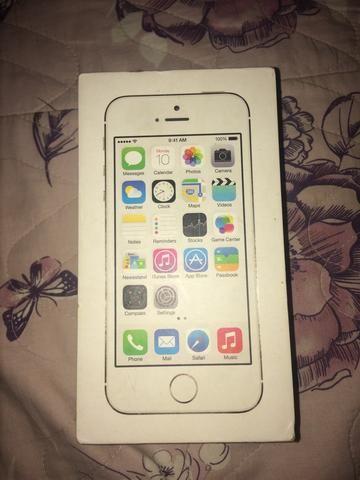 Caixa do IPhone 5s