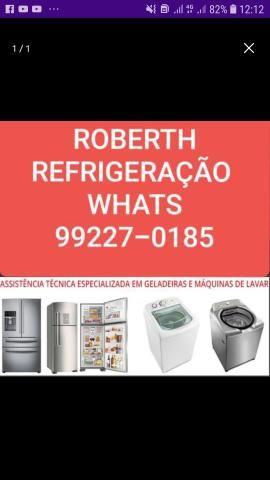 Técnico Em Máquinas de lavar e geladeiras