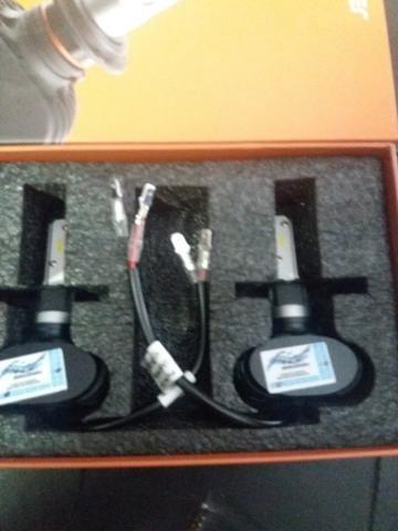 Led ultra led h3 Multilaser nova na embalagem garantia instalado