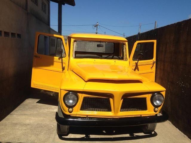 Ford F 75 Amarela - Foto 7