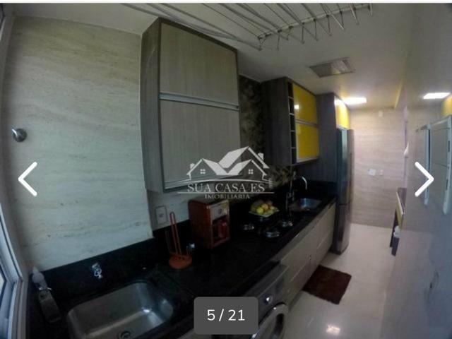 GM - Lindo Apartamento Decorado Villagio Limoeiro Fica tudo - ES - Foto 9