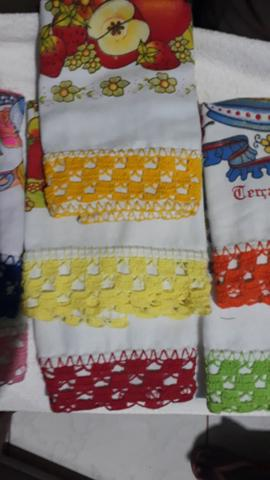 Conjunto de toalha de prato - Foto 4