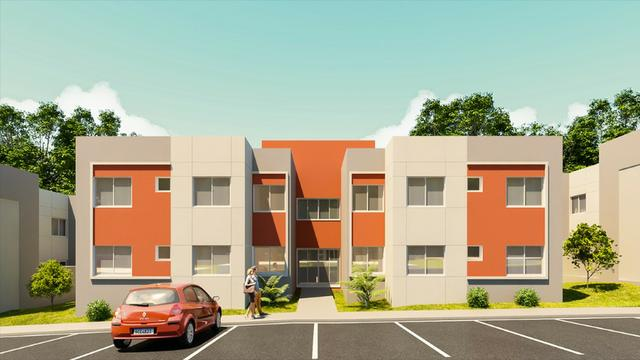 Apartamentos 2 quartos - Fazenda Rio Grande, a partir de 120 mil!, documentação grátis!!