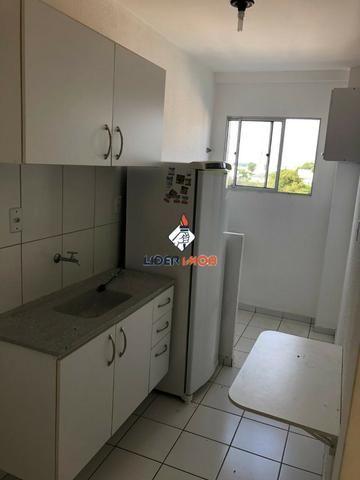 Apartamento 2/4 Semi-Mobiliado no SIM - Condomínio Solar Sim - Próximo a FTC