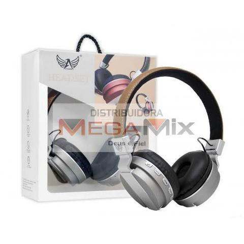 Fone De Ouvido Headphone Altomex Original Bluetooth Android iOS Música - Foto 4
