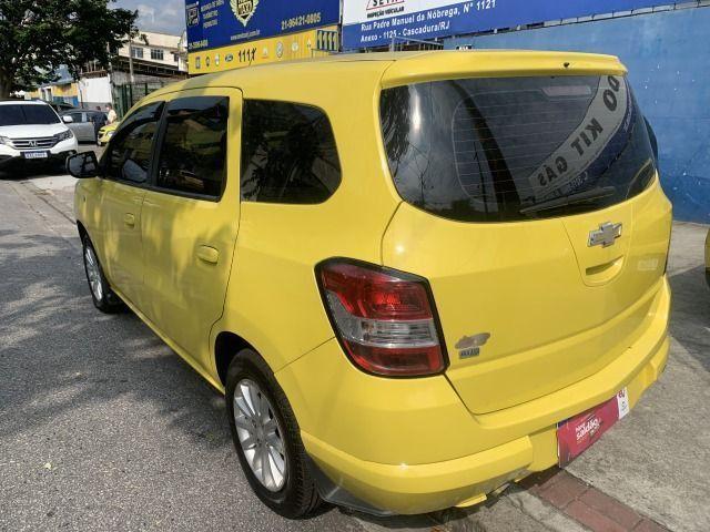 Spin 1.8 ex taxi completa+gnv, aprovação imediata, sem comprovação de renda!!! - Foto 7