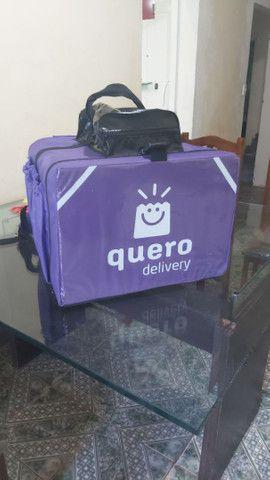 Bag mochila para delivery entregador - Foto 2